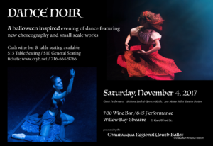 Dance Noir @ Willow Bay Theater